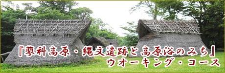 『 蓼科高原・縄文遺跡と高原浴のみち 』 ウオーキング・コース